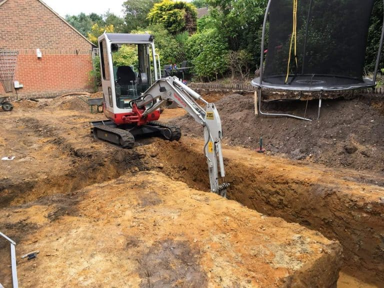 GROUNDWORKS AND DRAINAGE